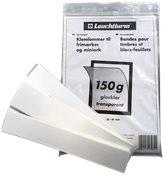 150 g di strisce trasparenti - altezza 24-31-41 mm