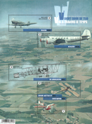 Belgium - Aviation history - Mint sheetlet