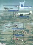 Belgien - Flyvningens historie - Postfrisk ark
