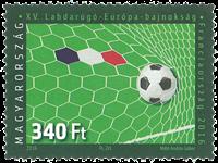 Ungarn - Fodbold EM - Postfrisk frimærke
