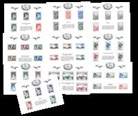 Frankrig - Filateliens skatkammer - Mappe med 10 postfriske miniark 2014