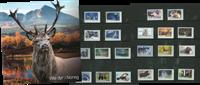 Norge - Dagligmærker Vilde Dyr - Mappe med dagligserien