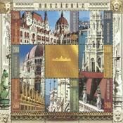 Ungarn - Parlamentsbygningen - Postfrisk miniark