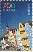 奥地利邮票 谢尔丁建城700周年 新邮 1枚