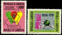 Cameroun - YT  869-70 - Postfrisk