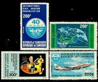 Cameroun - YT  744-47