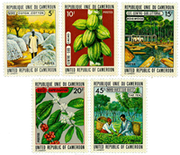Cameroon - YT  536-40