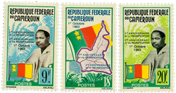 Cameroun - YT  372-74 - Postfrisk