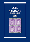 AFA Denmark block of 4 catalog 2017