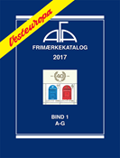 AFA Vesteuropa frimærkekatalog bind 1, 2017 (A-G)
