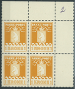 Groenlandia - Paquete postal