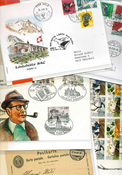 Switzerland etc. - Duplicate lot with high quality  FDCs etc.