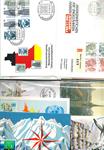 Schweiz mm. - Dubletlot med FDC mm
