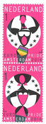 Holland - Europride Amsterdam 2016 - Postfrisk sæt 2v