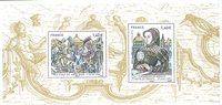 法国邮票 法国历史的伟大时刻系列2016年 邮折