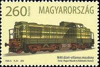 Ungarn - M40 Lokomotiv - Postfrisk frimærke