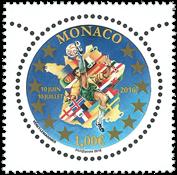 Monaco - Football EM 2016 - Postfrisk frimærke