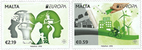 Malta - Europa 2016 - Postfrisk sæt2v