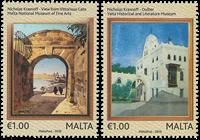 Malta - Fælles med Rusland - Postfrisk sæt 2v