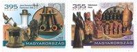 Hongrie - Musée de pipes et d'échecs - Série neuve 2v