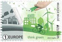 Belgique - Pensez vert - Europa 2016 - Timbre neuf