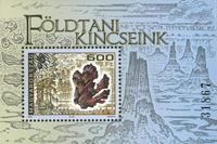 Ungarn - Geologi - Postfrisk miniark