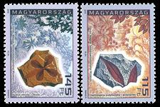 Ungarn - Geologi - Postfrisk sæt 2v