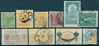 Suecia - Lotes de stock - 1858-1991