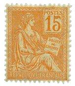 Frankrig - YT 117 - Postfrisk