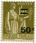 Frankrig - YT 298 - Postfrisk