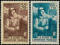 Frankrig - YT 386-87 - Postfrisk