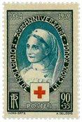 Frankrig - Røde kors 75 år YT422 - Postfrisk