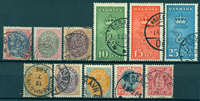 Danemark - 1875-1929