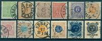 Suecia - 1858-89