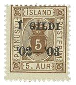 Island Tjenestemærke - AFA 12