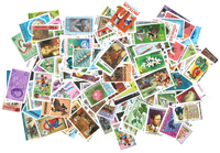 British colonies - 250 different stamps - Mint