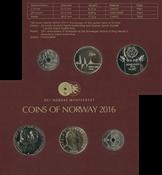 Norge møntsæt 2016