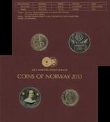 Norge møntsæt 2013