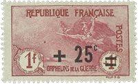 France 1922 - YT 168 - Neuf avec charnière