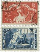 France 1935 - YT 307-08 - Oblitéré
