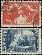 Frankrig 1935 - YT 307-08 - Stemplet