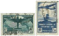 Frankrig 1936 - YT 320-21 - Stemplet