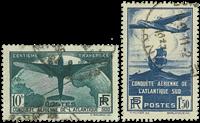 France 1936 - YT 320-21 - Oblitéré