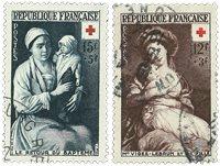 Frankrig 1953 - YT 966/967 - Stemplet