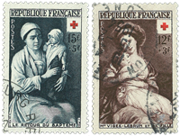 France 1953 - YT 966/967 - Cancelled