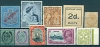 Malta - Samling - 1860-1997