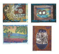 Polynésie 549/52 * Artistes