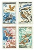 St Pierre & Miquelon YT 364-67 -  1963, Oiseaux