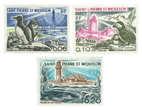 Saint Pierre and Miquelon 1975 - YT 445-47