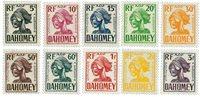 Dahomey - YT Taxe 19-28